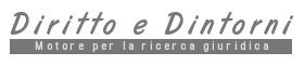 diritto e dintorni - motore per la ricerca giuridica
